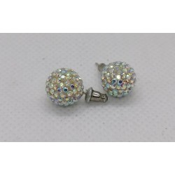 SILVER SILVER EARRINGS WITH STRAIGHT