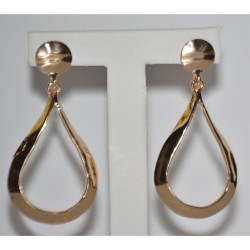 EARRING GOLD DROP PLATE