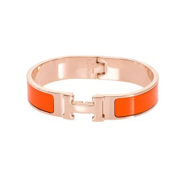SENZA STAINLESS STEEL BRACELET GOLD PLATED TYPE HERMES