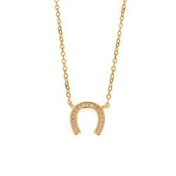 NECKLACES SENZA SILVER 925  GOLD PLATED