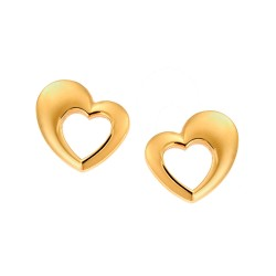 SENZA SILVER 925 EARRINGS GOLD PLATED